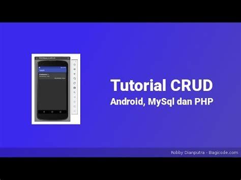 tutorial android mysql pdf menilkan data json berdasarkan id tutorial android