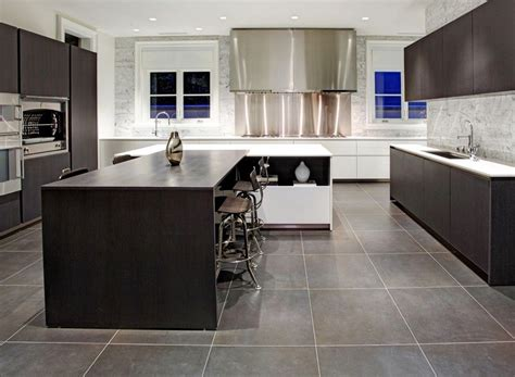 lovely modern floor tiles for kitchens kezcreative