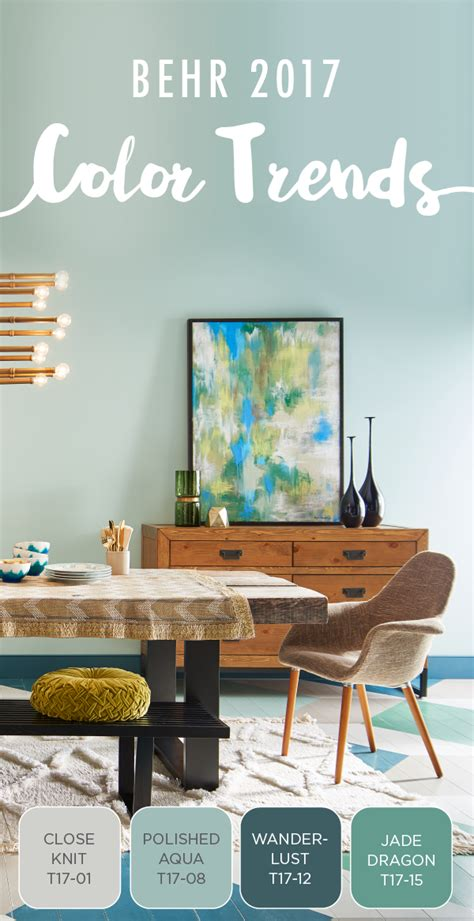 behr paint colors 2017 capturing the eclectic modern aesthetic you love is