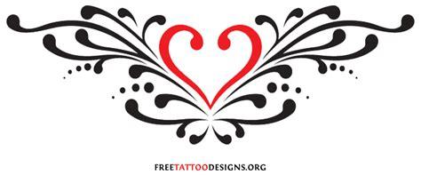 heart back tattoo designs flowers tattoos design tattoos design