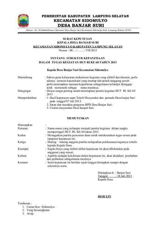 Contoh Surat Dinas Memperingati Hari Pendidikan Nasional