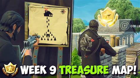 fortnite week  treasure location follow  treasure