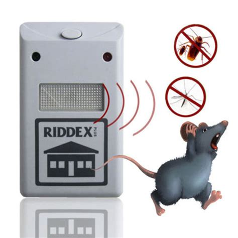 Anti Nyamuk Bug Scare Ultrasonic Rat Pest Repeller 1 electronic ultrasonic rat mouse repellent anti mosquito