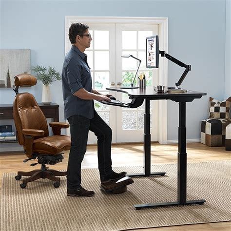 standing desk exercise equipment adaptdesk standing desk relax the back