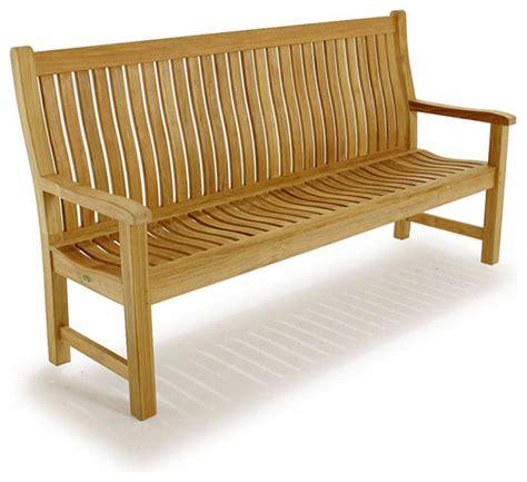 outdoor teak bench veranda 6 ft teak bench traditional outdoor benches