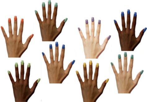nail colors for skin tones how to match nail color to skin tone alldaychic
