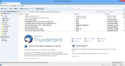 Mozilla Thunderbird 20 Is Go Free Email Client Now Available In Updated Format by Mozilla Thunderbird Keyboard Shortcuts Defkey