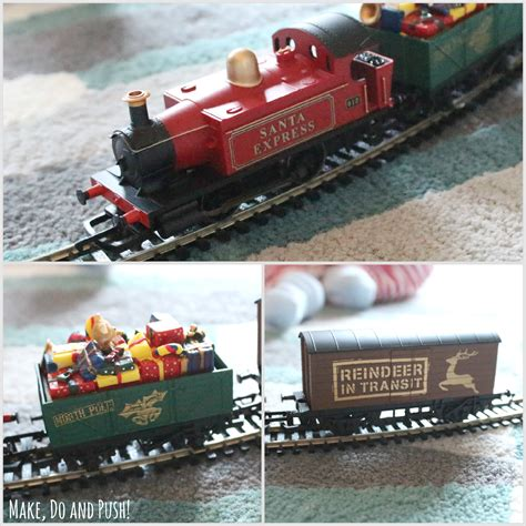 review santa s express train set from hornby make do