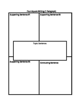 four square writing method template four square writing method 4 square writing template