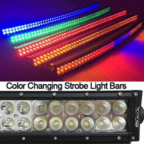 led light bar color changing color changing led lights light bars