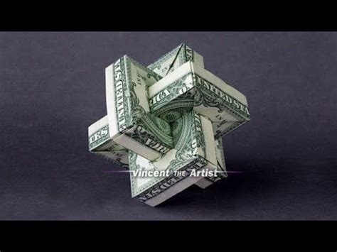 Easy Origami Dollar Bill - 25 best ideas about money origami on folding