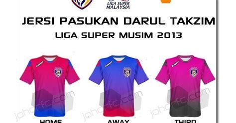 Baju Jersey Johor cikguhafiz jersey jdt home away 3rd 4rd