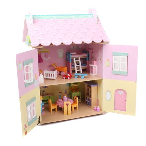 dolls house le toy van le toy van sweetheart cottage dolls house the great design store