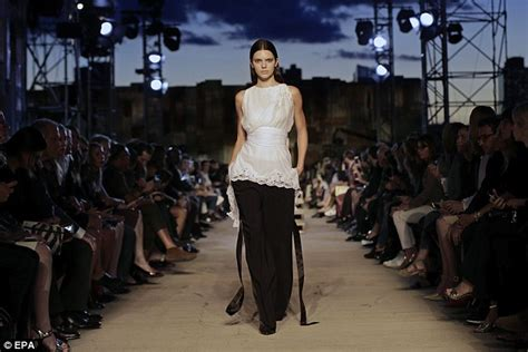 Next Launch Fashion Runway by Kendall Jenner Gives Eye Catching Catwalk During Givenchy