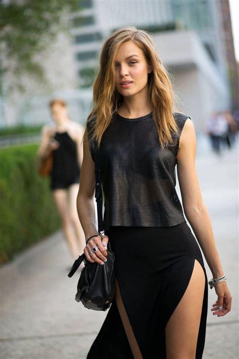 be in high slit skirts glam radar