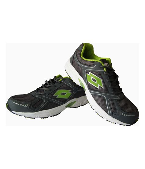 lotto gray leather trail speed sport shoes price in india