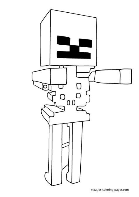 coloring pages minecraft wither minecraft wither skeleton coloring pages high quality