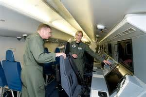 P 8 Poseidon Interior Inside A Navy Anti Submarine Lockheed P 3 Orion Aircraft