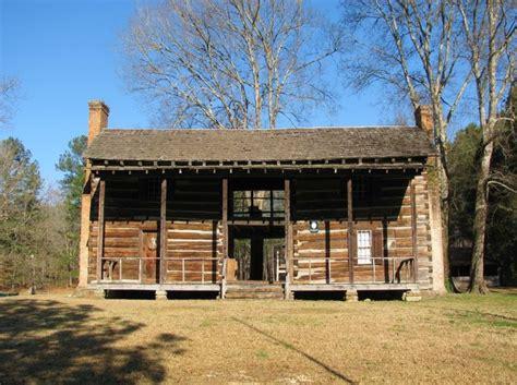 oldest   historic log cabins  alabama