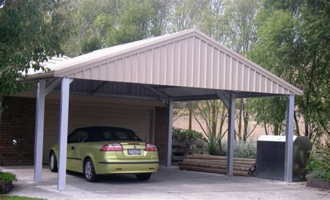 Shed Roof Carport by Carports Sheds Nz Shed Builders New Zealand