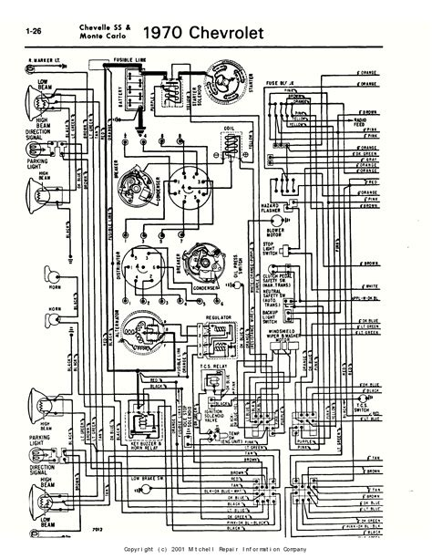 1970 chevelle tach wiring 1970 wiring diagram and