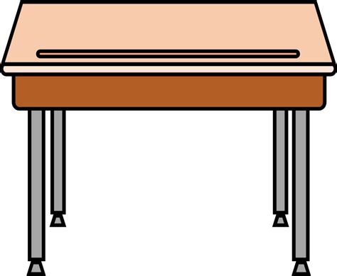 student at a desk clipart student desk