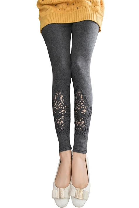 Bottom Lace by Bottom Lace Maternity Legging Grey