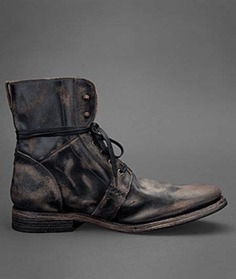 ago black side zip boots by varvatos varvatos ago side zip boot in black for black