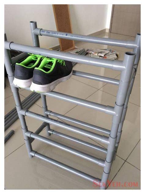 Rak Sepatu Dari Rotan 10 Kreasi Diy Keren Perlengkapan Rumah Mudah Dan Murah Dari Pipa Paralon Yuk Bikin