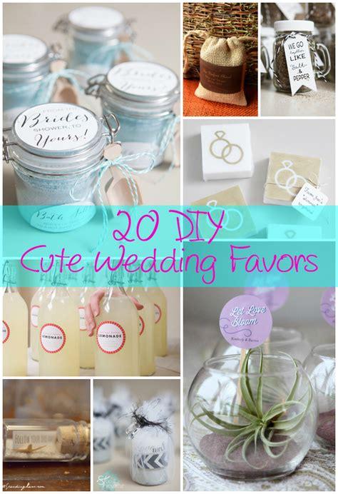 wedding favor diy 20 diy wedding favors the craftiest