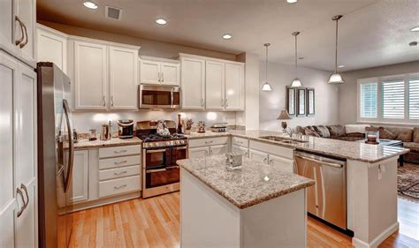 traditional kitchen with raised panel kitchen island in centennial co zillow digs zillow