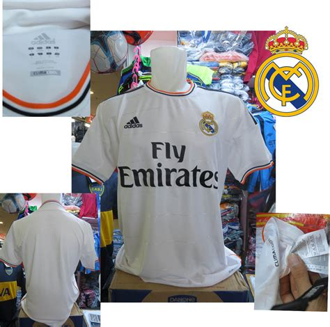 Kaos Bola Real Madrid Ori Jual Kaos Bola Jersey Jersey Real Madrid Home 2013 2014