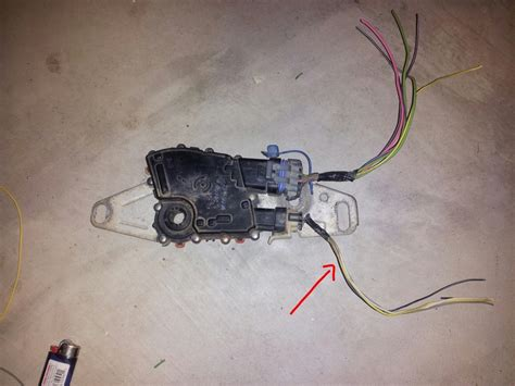 4l60e transmission neutral switch wire harness wiring