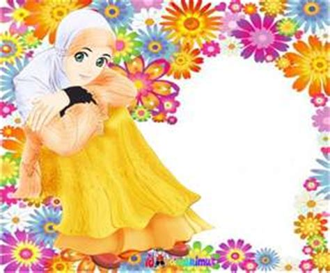 kumpulan gambar kartun akhwat wanita muslimah cantik
