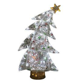 holiday living bent tree outdoor christmas decoration