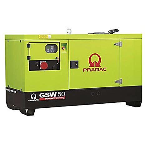 pramac gsw50y diesel generator standby generator 3 phase