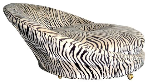 zebra print chaise lounge chair 1970s zebra print chair contemporary indoor chaise