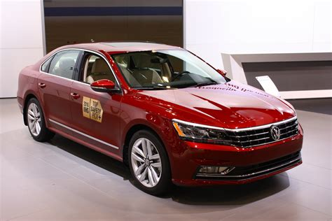 red volkswagen passat what is vw showing at the chicago auto show 2016