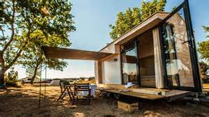inside there just available space minimalist tiny house family vacation getaway wheels