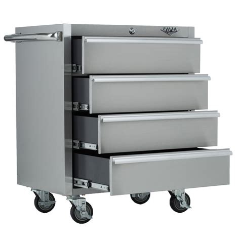 viper tool storage    drawer  stainless steel