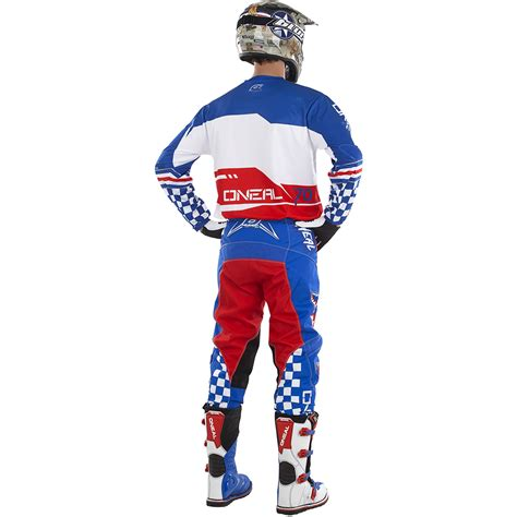 new jersey motocross oneal 2017 new mx element jersey pants afterburner blue