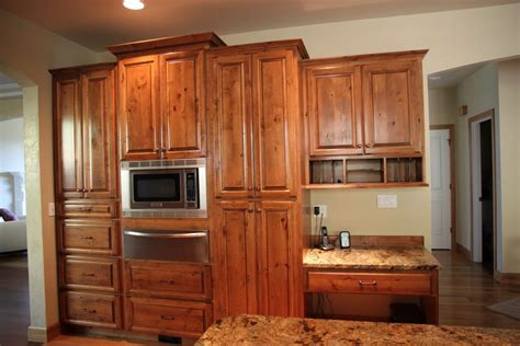 knotty wood kitchen cabinets furniture rustic holic accent kitchen with knotty wood