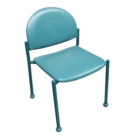 Green Chairs by Vintage Chair With Blue Green Upholstery Ebay
