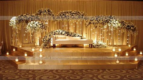 Wedding Design Ideas by 15 Indian Themed Wedding Stage Design Ideas
