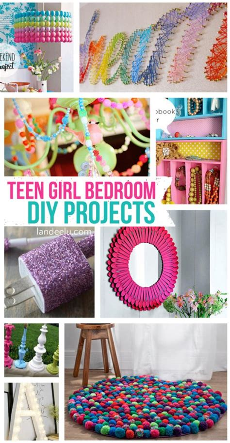 cute diy projects for your bedroom teen girl bedroom diy projects landeelu com