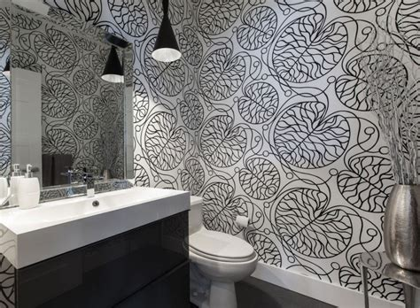 bathroom beautiful bathroom wallpaper designs and decor