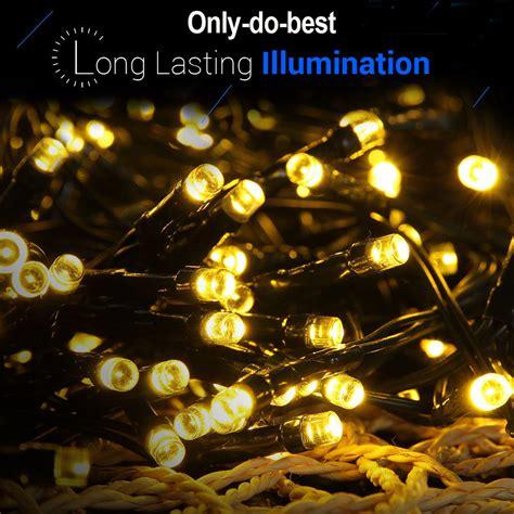 waterproof garden led solar power string light