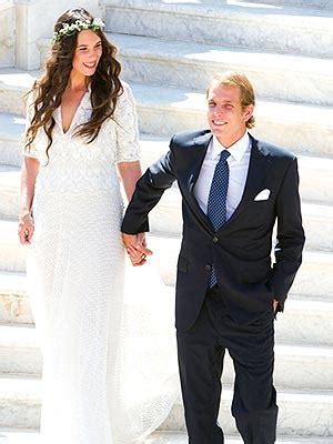 Abcd Bryan Flat Princess Silver andrea casiraghi weds tatiana santo domingo