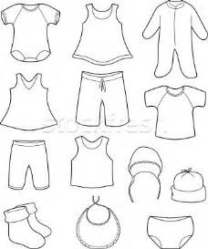 coloring cloth 1000 images about clothing coloring pages on