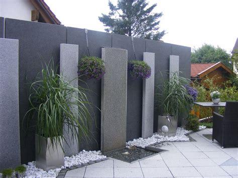 Garten Pflanzen Konstanz by Sichtschutz Mit Granitstelen Landschaftsgrtner Konstanz